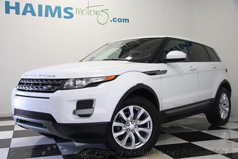2014 Land Rover Range Rover Evoque for sale in Lauderdale Lakes, FL