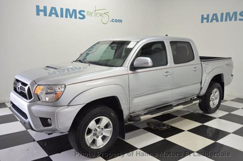 2012 Toyota Tacoma for sale in Lauderdale Lakes, FL