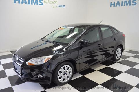 2012 Ford Focus for sale in Lauderdale Lakes, FL