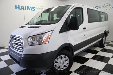 2016 Ford Transit Wagon for sale in Lauderdale Lakes, FL