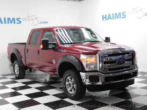 2015 Ford F-350 Super Duty for sale in Lauderdale Lakes, FL