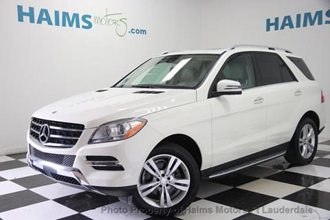 2013 Mercedes-Benz M-Class for sale in Lauderdale Lakes, FL
