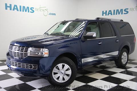 2010 Lincoln Navigator L for sale in Lauderdale Lakes, FL