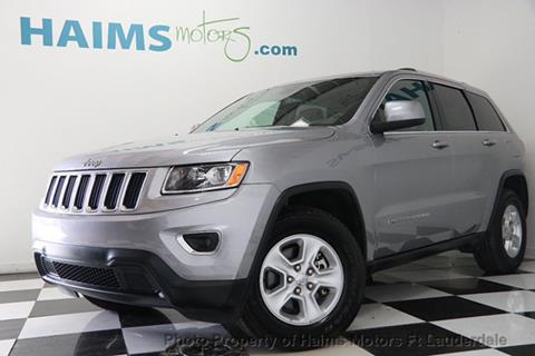 2016 Jeep Grand Cherokee for sale in Lauderdale Lakes, FL