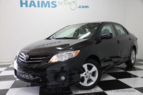 2013 Toyota Corolla for sale in Lauderdale Lakes, FL