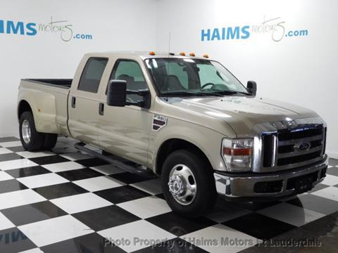 2009 Ford F-350 Super Duty for sale in Lauderdale Lakes, FL