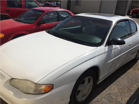 2000 Chevrolet Monte Carlo for sale in Lubbock, TX