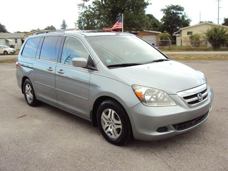 2006 Honda Odyssey EX-L 4dr Mini Van - Hollywood FL