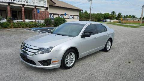 2012 Ford Fusion S 4dr Sedan - Hollywood FL