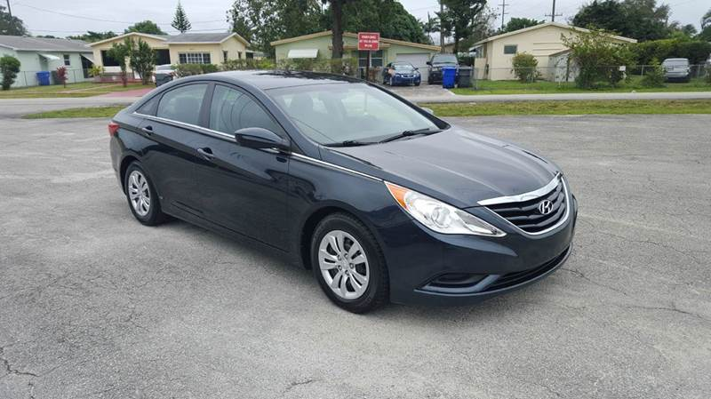2011 Hyundai Sonata GLS 4dr Sedan 6A - Hollywood FL