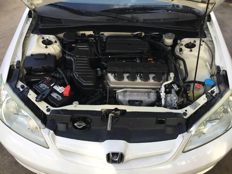 2005 Honda Civic LX 4dr Sedan - Hollywood FL