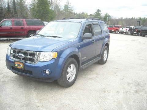 2008 Ford Escape for sale in Oxford, ME