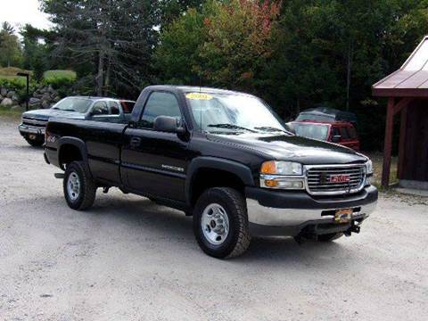 2001 GMC Sierra 2500HD for sale in Oxford, ME
