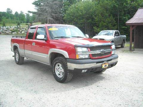 2004 Chevrolet Silverado 1500 for sale in Oxford, ME