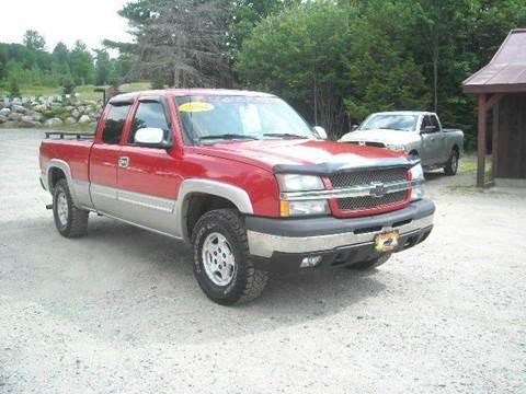 2004 Chevrolet Silverado 1500 for sale in Oxford, ME