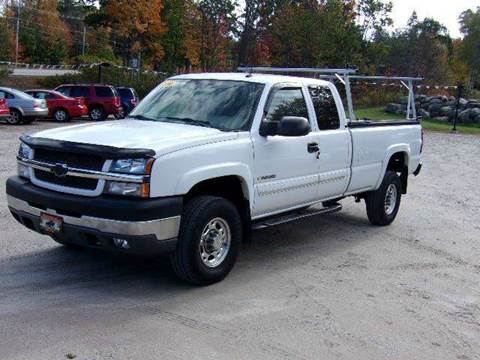 2004 Chevrolet Silverado 2500HD for sale in Oxford, ME