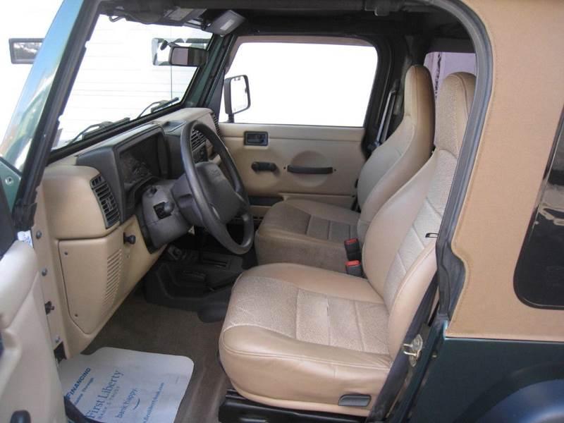 2000 Jeep Wrangler SE 2dr 4WD SUV - Scranton PA
