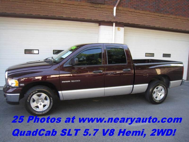 2004 Dodge Ram Pickup 1500 4dr Quad Cab SLT Rwd SB - Scranton PA