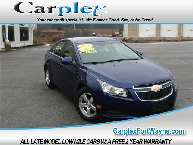 2012 Chevrolet Cruze Lt 4dr Sedan W 1lt In Fort Wayne In