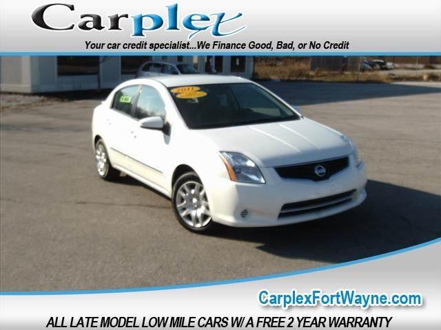 2011 Nissan Sentra 2 0 4dr Sedan Cvt In Fort Wayne In