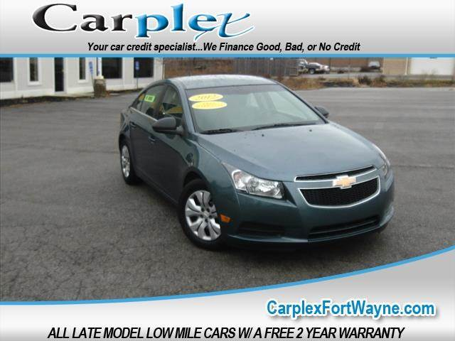 2012 Chevrolet Cruze Ls 4dr Sedan In Fort Wayne In Carplex