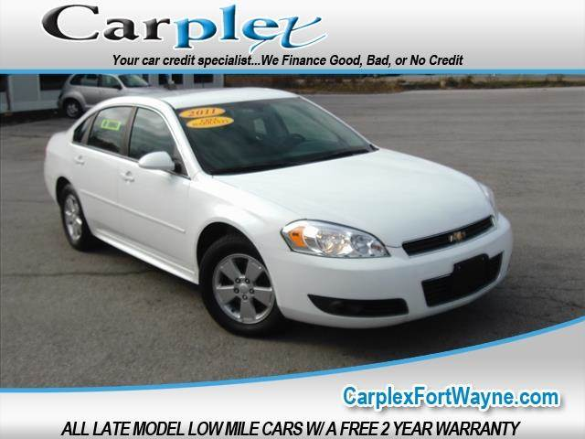 2011 Chevrolet Impala Lt Fleet 4dr Sedan W 2fl In Fort