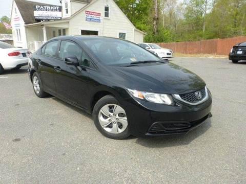 2013 Honda Civic for sale in Stafford, VA