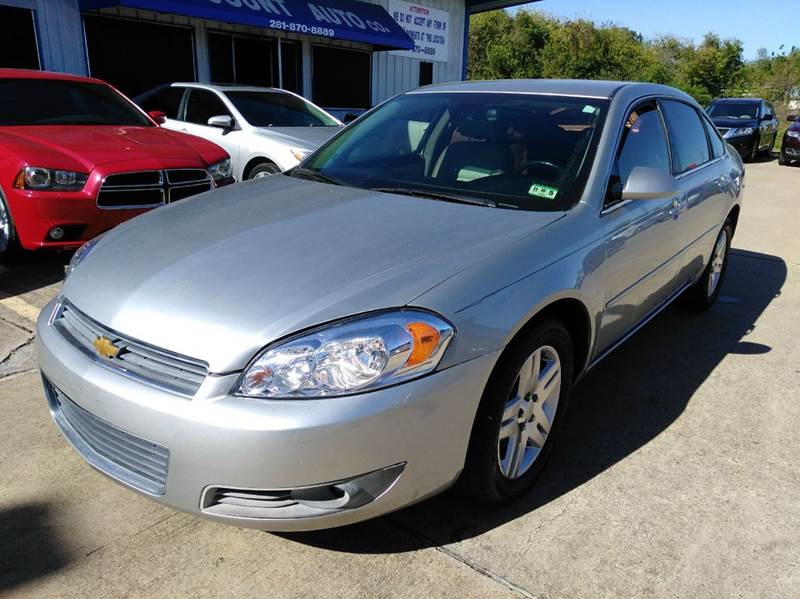 2008 chevrolet impala lt 4dr sedan w 2lt in houston tx for Discount motors jacksboro hwy inventory