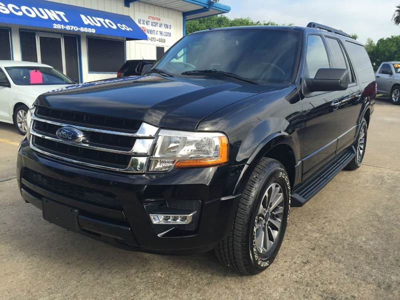 2016 ford expedition el 4x2 xlt 4dr suv in houston tx discount auto company. Black Bedroom Furniture Sets. Home Design Ideas