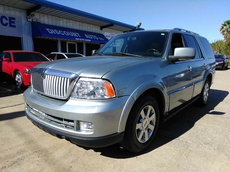 2006 lincoln navigator luxury 4dr suv in houston tx for Discount motors jacksboro hwy inventory
