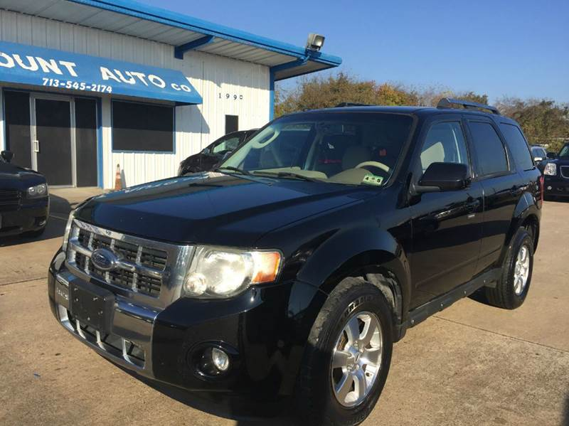 2009 ford escape limited awd 4dr suv v6 in houston tx for Discount motors jacksboro hwy inventory