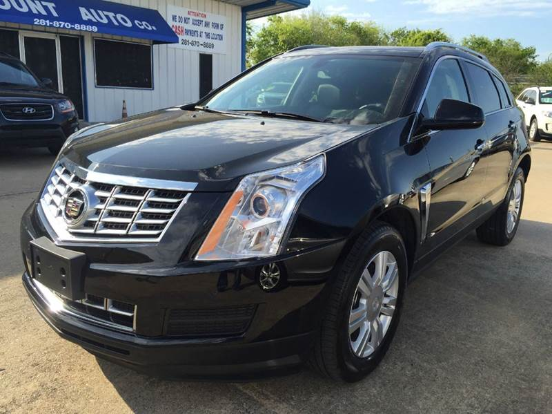 2016 cadillac srx luxury collection 4dr suv in houston tx for Discount motors jacksboro hwy inventory