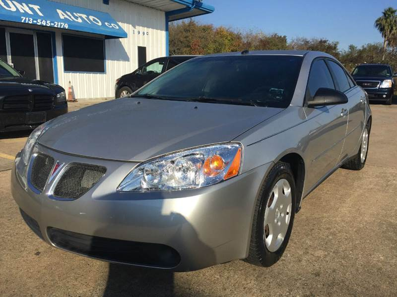 2008 pontiac g6 value leader 4dr sedan in houston tx. Black Bedroom Furniture Sets. Home Design Ideas