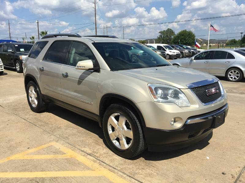2007 gmc acadia slt 2 4dr suv in houston tx discount. Black Bedroom Furniture Sets. Home Design Ideas
