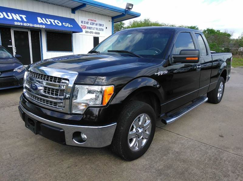 2013 ford f 150 xl 4x2 4dr supercab styleside 6 5 ft sb for Discount motors jacksboro hwy inventory
