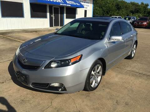 2012 Acura TL for sale in Houston, TX