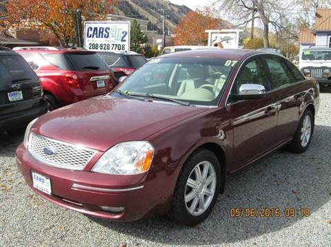 2007 Ford Five Hundred for sale in Hailey, ID