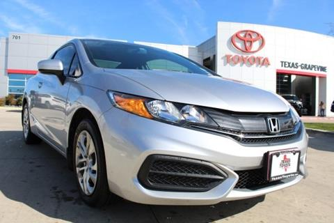 2014 Honda Civic for sale in Grapevine, TX