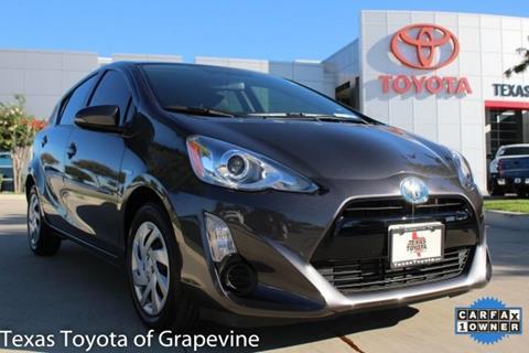 2015 Toyota Prius c for sale in Grapevine, TX