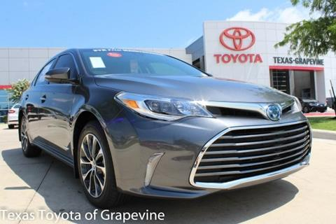 2018 Toyota Avalon Hybrid for sale in Grapevine, TX