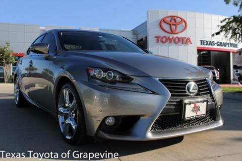 2014 Lexus IS 350 for sale in Grapevine, TX
