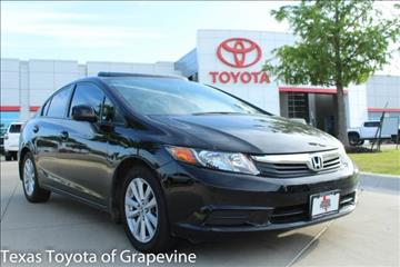 2012 Honda Civic for sale in Grapevine, TX