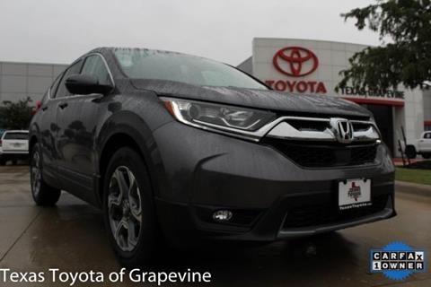 2017 Honda CR-V for sale in Grapevine, TX