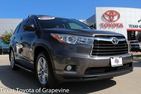 2015 Toyota Highlander for sale in Grapevine, TX