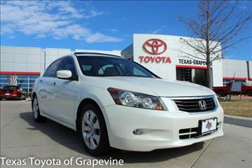 2009 Honda Accord for sale in Grapevine, TX