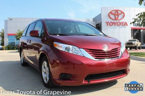 2016 Toyota Sienna for sale in Grapevine, TX