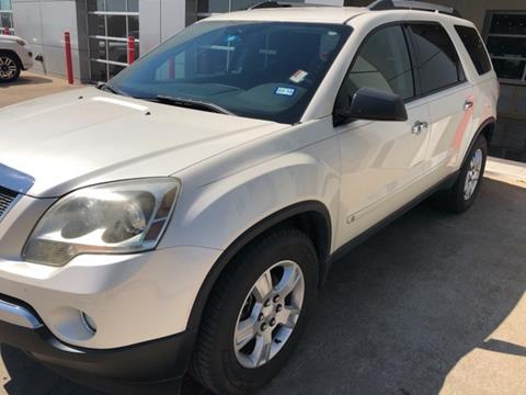 2010 GMC Acadia for sale in Grapevine, TX