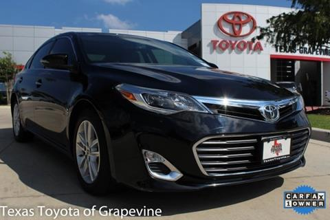 2013 Toyota Avalon for sale in Grapevine, TX