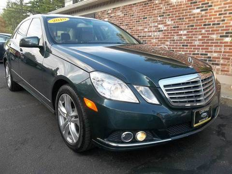 2010 Mercedes-Benz E-Class for sale in Franklin, NH
