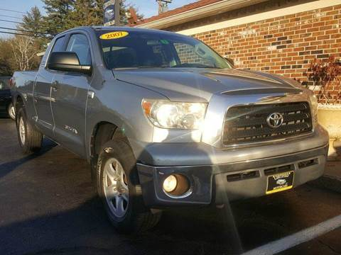 2007 toyota tundra for sale in new hampshire for Lewis motor sales brentwood nh